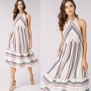 LAST - LIZZIE Striped Dress